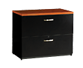 Studio C Two Drawer 3Ft Lateral File