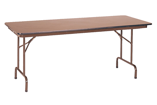 6' Utility Table 18X72 - Walnt