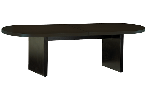 Studio Black 10ft Oval Conference Table