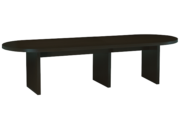Studio Black 12ft Oval Conference Table