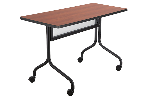 4ft Training Table With Wheels