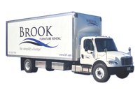 Brook Furniture Rental Delivery Truck