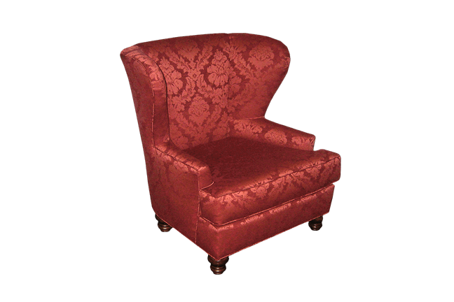 Sherlock Red Wing Chair