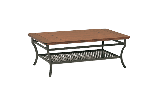 Plank U0026 Iron Cocktail Table