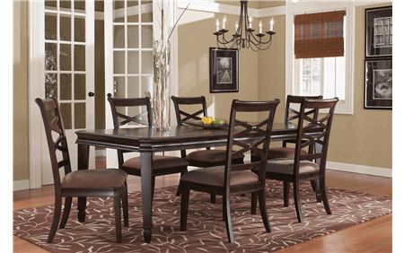 Hayley Dining Table for Rent | Brook Furniture Rental