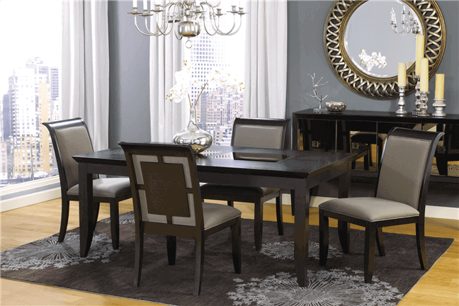 Oasis Mirrored Dining Table
