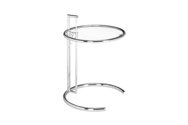 eileen gray side table for rent brook furniture rental