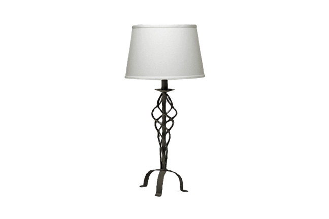 Iron Cage Table Lamp For Rent Brook Furniture Rental