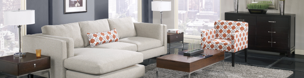 Davenport Chaise Ellyn Jupiter Living Room Collection