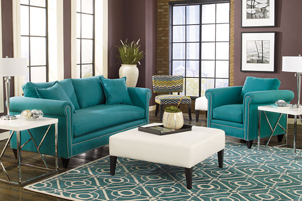 Luxe Taylor Ottoman Mirage Zag Living Room Furniture Collection The Hottest New Home Decor Styles