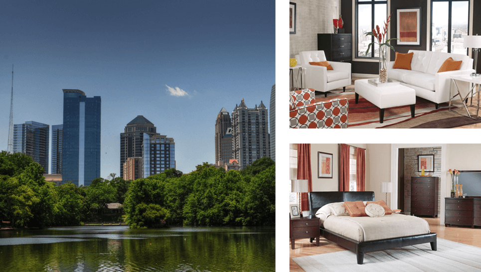 Rental Furniture Atlanta, GA | Brook Furniture Rental