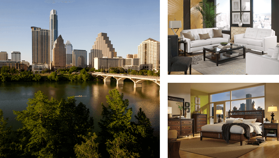 Rent Furniture in Austin & San Antonio, TX | Brook Furniture Rental