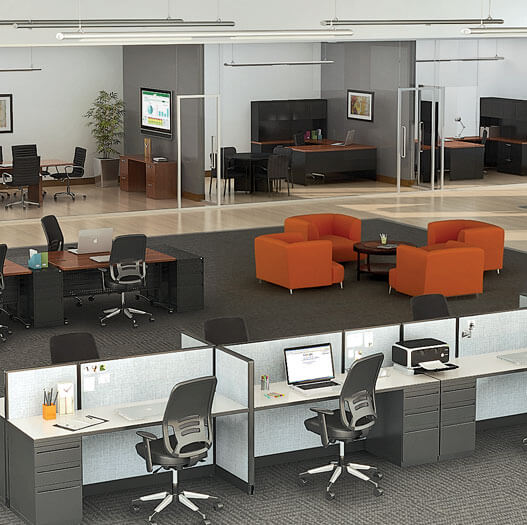 Office Furniture from Brook Furniture Rental in Elk Grove, IL